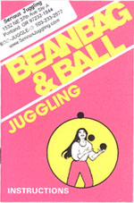Jugglebug Beanbag and Ball Juggling Booklet