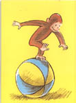 Curious George Get Well Card