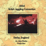 British Juggling Convention (BJC) '04 DVD (Derby)