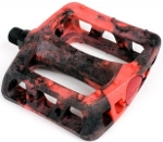 Odyssey Twisted PC black red swirl pedals